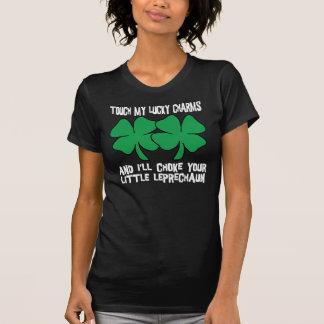私の幸運なチャームのTシャツ Tシャツ