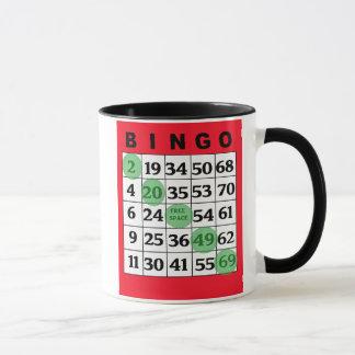 私の幸運なビンゴのコーヒー・マグ マグカップ