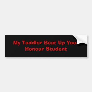 私の幼児 バンパーステッカー