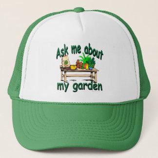 私の庭について私に尋ねて下さい キャップ