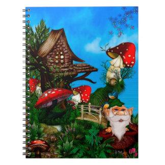 私の庭のファンタジーの芸術のための格言 ノートブック