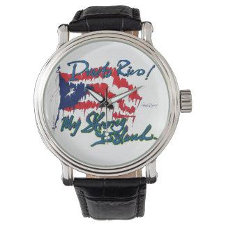 私の強い島 腕時計