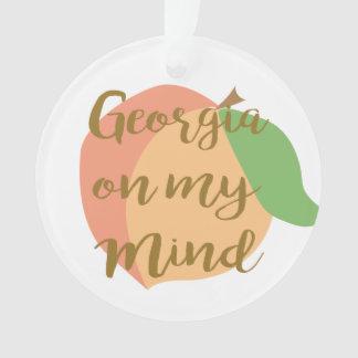私の心のオーナメントのジョージア オーナメント