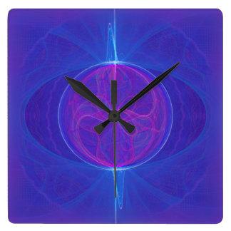 私の心の目の抽象美術 スクエア壁時計
