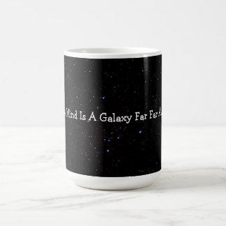 私の心はずっと遠くに銀河系です コーヒーマグカップ