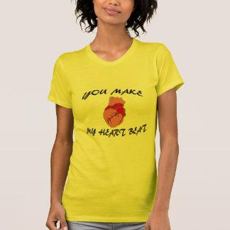 私の心拍を作ります Tシャツ