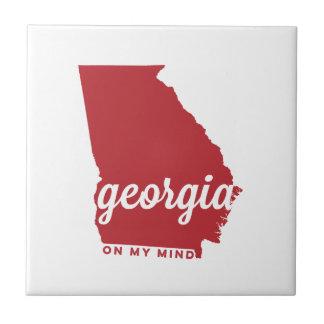 私の心|のさくらんぼのジョージア| タイル