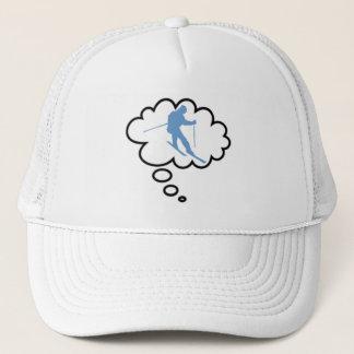 """""""私の心""""のでスキーをします帽子 キャップ"""