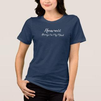 私の心- Tシャツのスタイルを作ることの常のハワイ Tシャツ