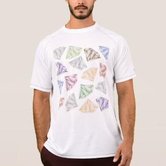 私の恋人のためのカラフルなダイヤモンド Tシャツ