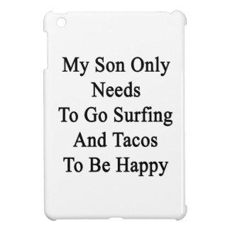 私の息子のHaがあるためにサーフおよびタコス行く必要性だけ iPad Mini カバー