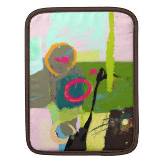 私の想像の抽象的概念 iPadスリーブ