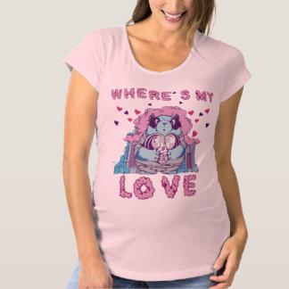 私の愛があるところ マタニティTシャツ