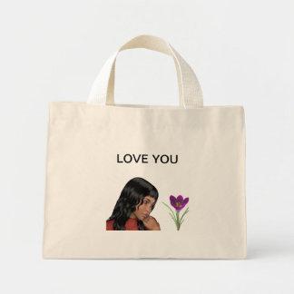 私の愛のためののバッグ ミニトートバッグ