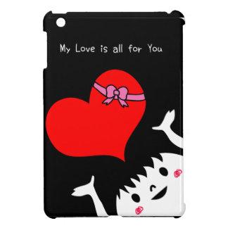 私の愛はあなたのためです iPad MINI カバー