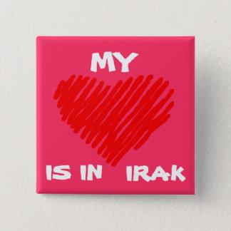 私の愛はイラクにあります 5.1CM 正方形バッジ