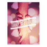 私の手を取って下さい