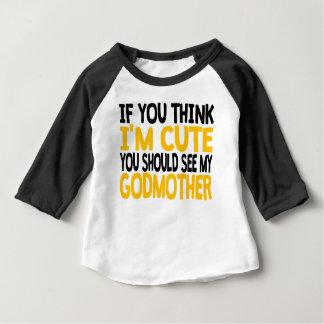 私の教母に会うべきです ベビーTシャツ