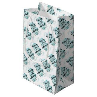私の新婦付添人の質問カードです スモールペーパーバッグ