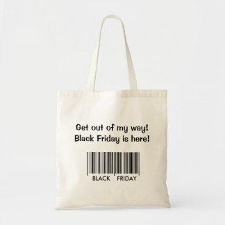 私の方法-黒い金曜日から出て下さい トートバッグ