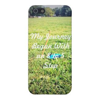 私の旅行は8から5ステップから始まりました iPhone 5 CASE