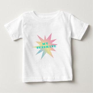 私の日光のパステルの星 ベビーTシャツ