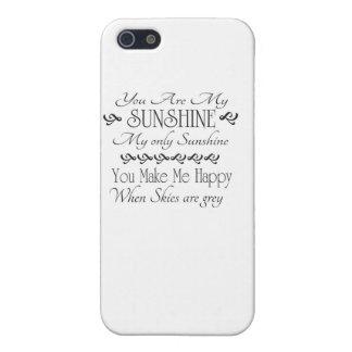 私の日光、させます私を幸せに時空です iPhone 5 ケース