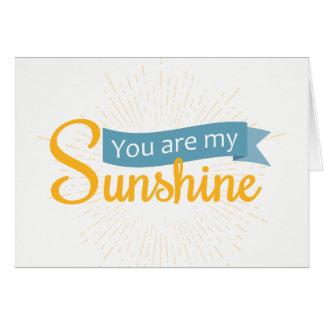 私の日光|空白のなカードです カード