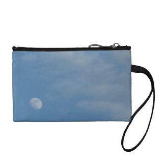 私の昼間の月-主硬貨のクラッチ・バッグ コインパース