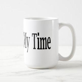 私の時間の開拓 コーヒーマグカップ