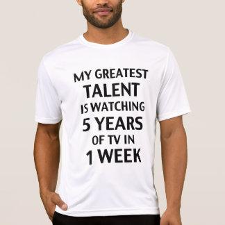 私の最も素晴らしい才能。 ワイシャツ Tシャツ