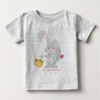 私の最初イースター ベビーTシャツ