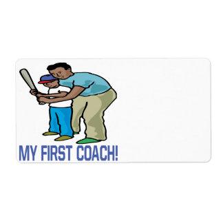 私の最初コーチ ラベル