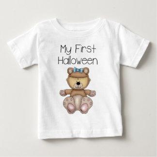 私の最初ハロウィンの女の子#1の*T-Shirt* ベビーTシャツ