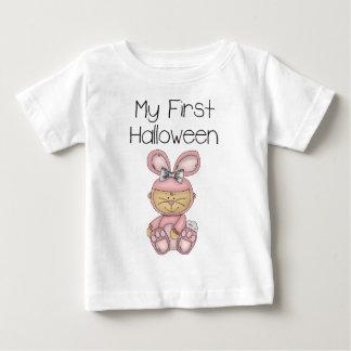 私の最初ハロウィンの女の子#2の*T-shirt* ベビーTシャツ