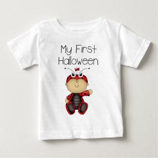 私の最初ハロウィンの女の子#3の*T-shirt* ベビーTシャツ