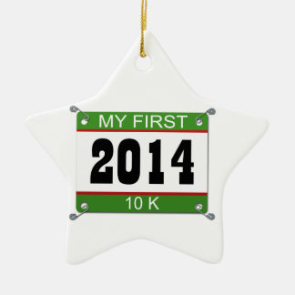 私の最初10K - 2014年 セラミックオーナメント