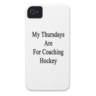 私の木曜日はコーチのホッケーのためです Case-Mate iPhone 4 ケース