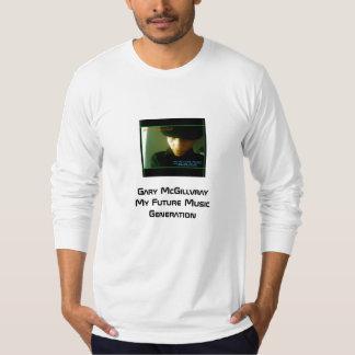 私の未来の音楽生成、ギャリーMcGillvrayMy F… Tシャツ