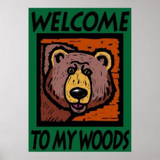 私の森への歓迎 ポスター
