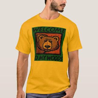 私の森への歓迎 Tシャツ
