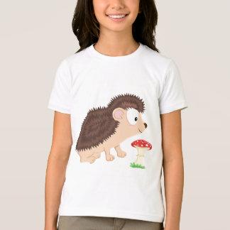 私の森林シリーズからのハリネズミ Tシャツ