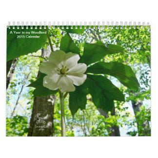 私の森林2015カレンダーの年 カレンダー