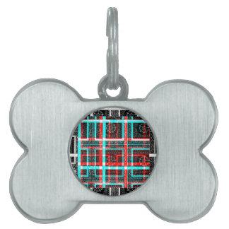 私の正方形の当惑のデザイン ペットネームタグ