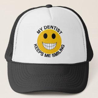 私の歯科医は私を微笑の帽子のトラック運転手の帽子保ちます キャップ