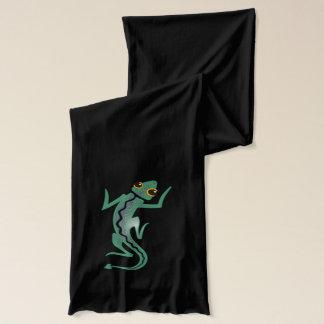 私の死体/風変わりなトカゲに スカーフ