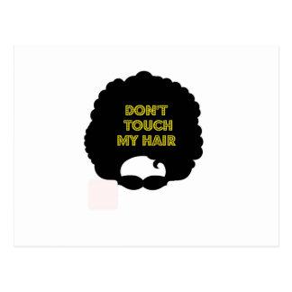'私の毛に触れないで下さい ポストカード