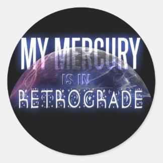 私の水星は逆行にあります ラウンドシール