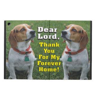 私の永遠の家のビーグル犬犬をありがとう iPad AIRケース