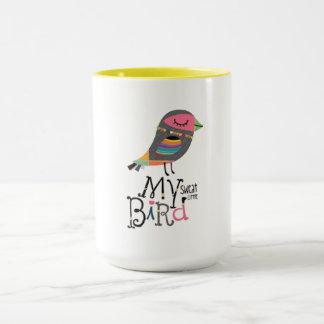 私の汗鳥のマグ マグカップ
